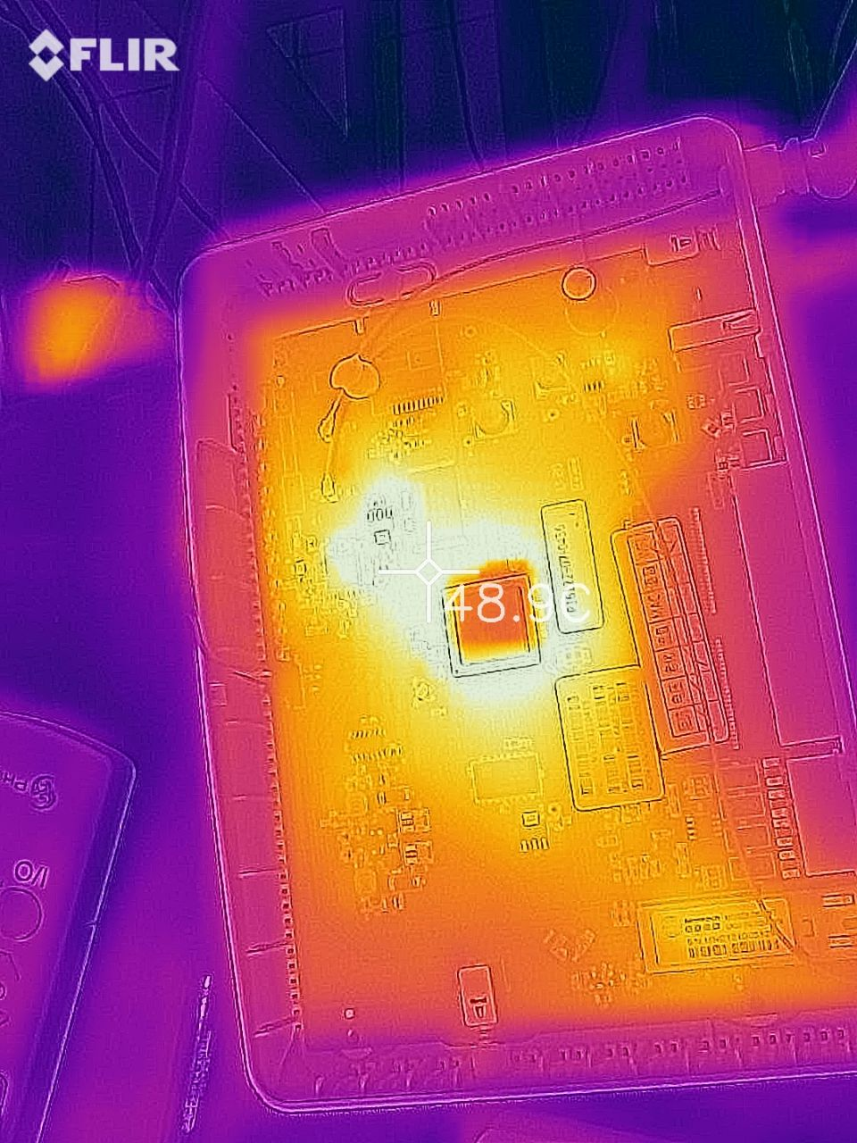 Thermal view (in)